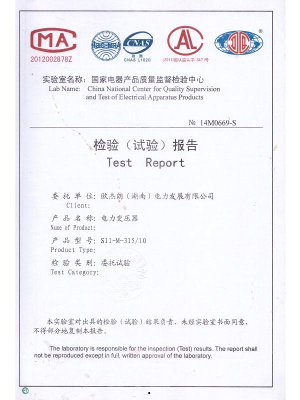 S11-M-315/10检验(试验)报告-1